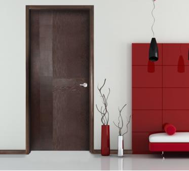 Im genes de puertas para exterior e interior decoraci n Puertas de madera interiores minimalistas
