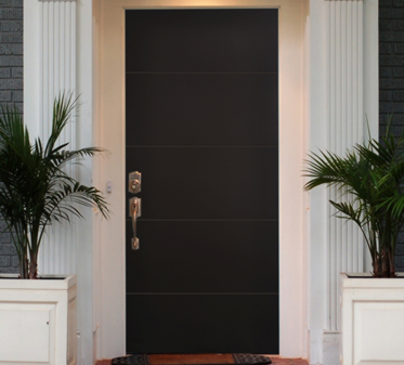 Im genes de puertas para exterior e interior decoraci n for Puertas minimalistas exterior