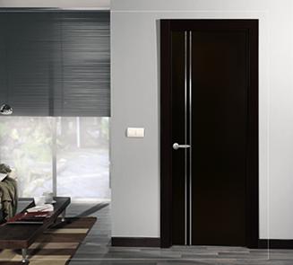 Im genes de puertas para exterior e interior decoraci n for Puertas de madera minimalistas