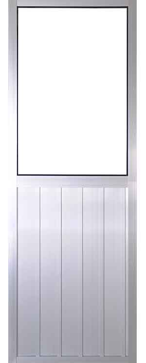 Puerta batiente de aluminio perfil 1 pulgadas - Puerta balconera aluminio ...